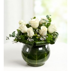 Beyazın Zarafeti 7 Beyaz Güller