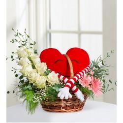 Kalplerimiz Bir Gerbera ve Güller